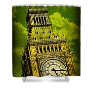 Big Ben 14 Shower Curtain