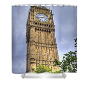Big Ben - Elizabeth Tower Shower Curtain