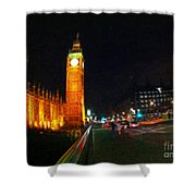 Big Ben - London Shower Curtain