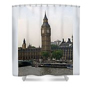 Big Ben From The Eye Shower Curtain