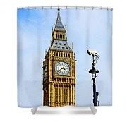 Big Ben Security Shower Curtain