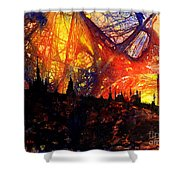 Big Ben Shocker Shower Curtain