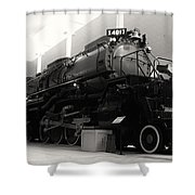 Big Boy 4017 Shower Curtain