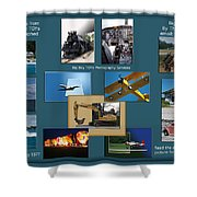 Big Boy Toys Photography Services Shower Curtain