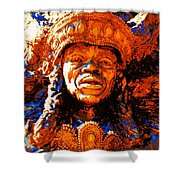 Big Chief Tootie Shower Curtain