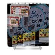 Big Daddy's Drive Inn Auburn Wa Shower Curtain