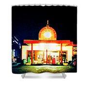 Big Ed's Gas Farm Shower Curtain