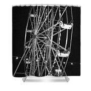 Big Eli Ferris Wheel 2 Shower Curtain