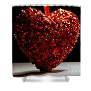 Big Heart Shower Curtain