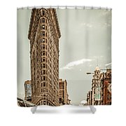 Big In The Big Apple Shower Curtain by Hannes Cmarits