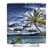 Big Island Beaches V2 Shower Curtain