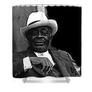 Big Jake Homage 1971 Bill Walker The Deacon The Great White Hope Globe Arizona Shower Curtain