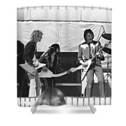Big Jam At Day On The Green 1976 Shower Curtain