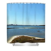 Big Lagoon 1 Shower Curtain