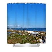 Big Lagoon 3 Shower Curtain