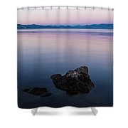 Big Lake Shower Curtain