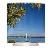 Big Mackinac Bridge 57 Shower Curtain