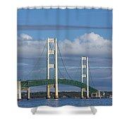 Big Mackinac Bridge 59 Shower Curtain