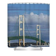 Big Mackinac Bridge 61 Shower Curtain