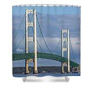 Big Mackinac Bridge 63 Shower Curtain