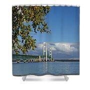 Big Mackinac Bridge 68 Shower Curtain
