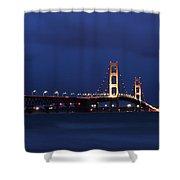 Big Mackinac Bridge 9 Shower Curtain