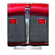 Big Red Fire Truck Shower Curtain