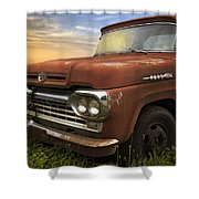 Big Red Ford Shower Curtain