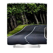 Big  Road Shower Curtain