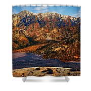 Big Rock Mountain Shower Curtain