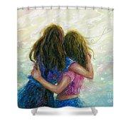 Big Sister Hug Shower Curtain