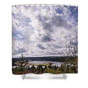 Big Sky At Kielder Shower Curtain