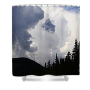 Big Sky Big Weather Shower Curtain