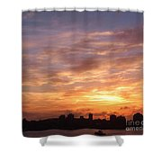 Big Sky Over Halifax Harbour Shower Curtain