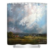 Big Sky Shower Curtain