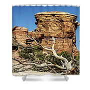 Big Spring Canyon Overlook Shower Curtain