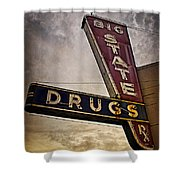 Big State Drugs Irving Shower Curtain