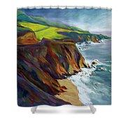 Big Sur 1 Shower Curtain