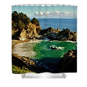 Big Sur Shower Curtain by Benjamin Yeager