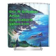 Big Sur Califorina Shower Curtain
