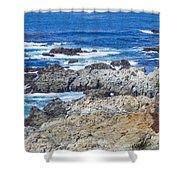 Big Sur Coastline Shower Curtain