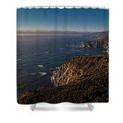Big Sur Headlands Shower Curtain