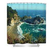 Big Sur Little Cove Shower Curtain