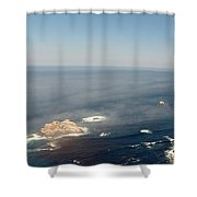 Big Sur Panorama Shower Curtain