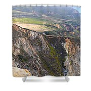 Big Sur Panorama Shower Curtain