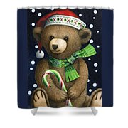 Big Teddy Shower Curtain