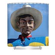 Big Tex Shower Curtain