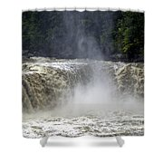 Big Water Shower Curtain
