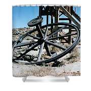 Big Wheel Bodie Shower Curtain