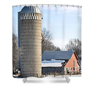 Bigger Than The Barn Shower Curtain